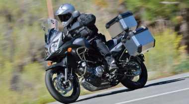 Suzuki V-Storm 650 XT Lebih Safety