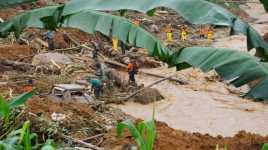 Pemkab Banjarnegara Minta Bantuan Korban Longsor Diganti Semen