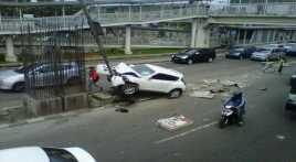 Kecelakaan Lalu Lintas Warnai Minggu Pagi