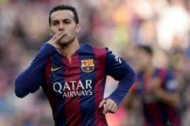 Performa Pedro Dipuji Legenda Blaugrana