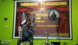 Komedian Hibur Siswa Makassar