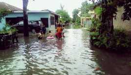 Kali Ciliwung Meluap, Warga Kampung Pulo Kebanjiran