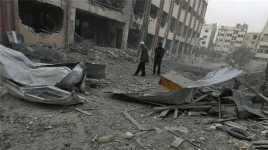 Damaskus Dihujani Roket, Tujuh Orang Tewas
