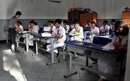 Ujian Sekolah Menentukan Kelulusan Siswa