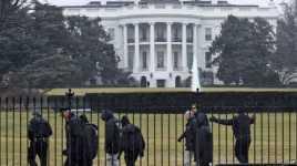 Drone Milik Pria AS Jatuh di Gedung Putih