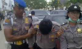 Satu Polisi Terluka saat Amankan Demo Mahasiswa
