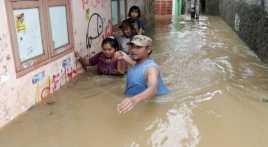 Banjir di Baleendah, Bayi Satu Bulan Ikut Diungsikan