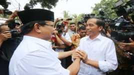 PDIP Sambut Baik Pertemuan Jokowi Prabowo