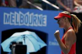 Sharapova Enggak Peduli dengan Rekor Mengkilap Serena