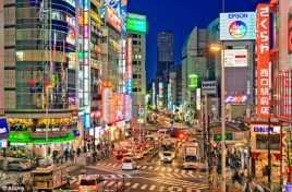 Tokyo Menjadi Kota Teraman Sedunia