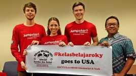 Raih Beasiswa ke Amerika Lewat Kegiatan Sosial