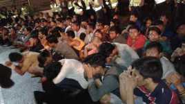Ratusan Orang Terjaring Operasi Cipta Kondisi di Jakarta Utara