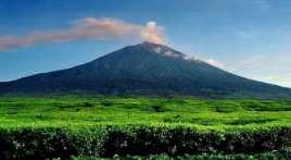 10 Lubang Berasap Ditemukan di Kaki Gunung Kerinci