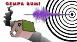 Diguncang Gempa, Warga di Siberut Utara Mengungsi