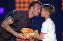 Romeo Beckham Bisa Jadi Bintang Tenis Dunia