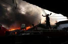 Api Padam, Ratusan Rumah Hangus