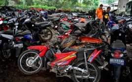327 Motor Bodong Disita dari Pulau Tidung