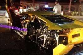 Kecelakaan Dramatis Lamborghini dengan VW Passat