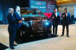 Banderol Toyota All New Alphard Mulai Rp830 Juta