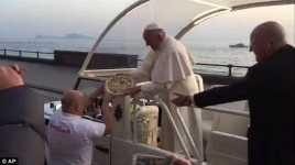 Kerinduan Paus Fransiskus Makan Pizza Akhirnya Terbayar
