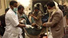 Hari Kedua Serangan Udara Arab Saudi 39 Orang Tewas