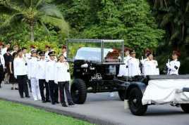 Gedung Bersejarah Singapura Lepas Kepergian Lee Kuan Yew