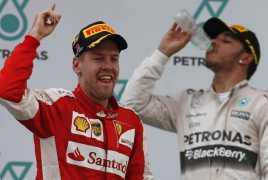 Ferrari Berjaya Peringatan untuk Mercedes