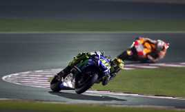 Rossi Manfaatkan Kecerobohan Marquez