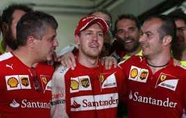 Vettel Buat Ferrari Move On dari Alonso