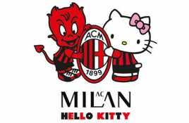 Milan Jalin Kerjasama dengan Hello Kitty