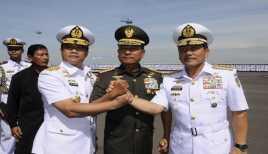 KSAL Ade Supandi Diangkat Jadi Warga Kehormatan TNI AL