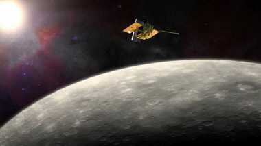 Pesawat Luar Angkasa NASA Jatuh di Planet Merkurius