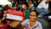 Buruh Perkapalan Antusias Sambut Presiden Jokowi