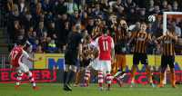Jinakkan Harimau, Arsenal Tempel The Citizens