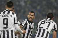 Tevez Buat Juventus Kembali Unggul