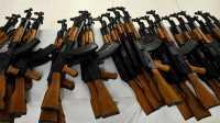 Modifikasi Senjata Legendaris Rusia Dipamerkan saat Perayaan V-Day