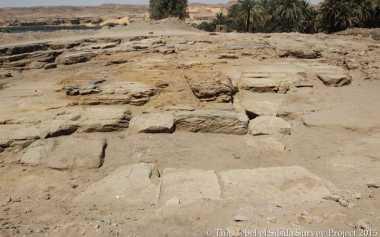 Kuil Pemujaan Mesir Kuno Ditemukan Tertimbun Reruntuhan