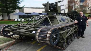 Tentara Amerika Kembangkan Drone Tank untuk Pertempuran Darat