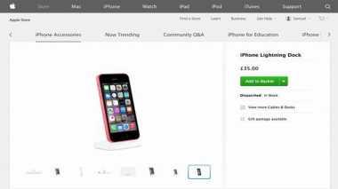 Gambar iPhone 6C Bocor di Situs Apple Store