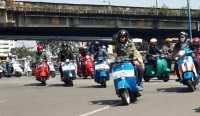 Jakarta Mods May Day, Cara Pengguna Vespa Rayakan Hari Buruh