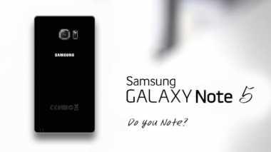 Galaxy Note 5 Gunakan Lensa F/1.8