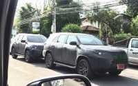 Toyota Fortuner 2016 Tepergok Uji Jalan Ditemani Isuzu MU-X