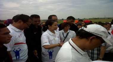 \Menteri Rini Kunjungi Lampung Percepat Tol Trans Sumatera\