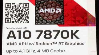AMD Rilis APU Terbaru dengan Grafis Radeon R7