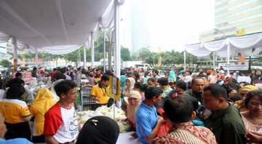 \Jelang Bulan Puasa, Pemerintah Yogyakarta Gelar Pasar Murah\