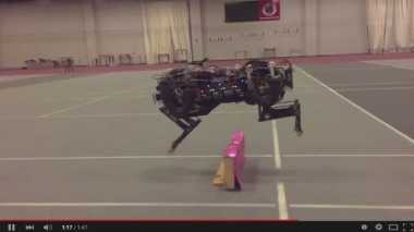 Robot Cheetah Miliki Kemampuan Loncat hingga 18 Inci