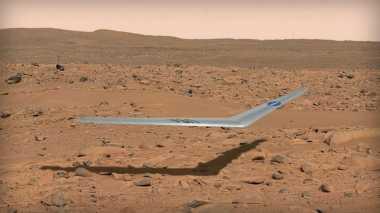 NASA Ciptakan Pesawat yang Bisa Terbang di Mars
