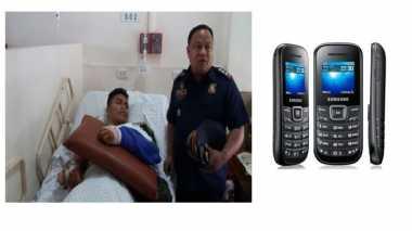 Samsung E1200 Selamatkan Nyawa Polisi Filipina dari Peluru