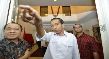 \Jokowi ke Menteri: Ayo Kerja Keras!\