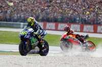 Marquez yang Membuat Rossi Memotong Trek